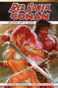 RED SONJA CONAN BLOOD OF A GOD HC (DYNAMITE COMICS)