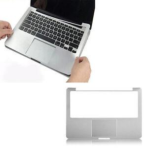 "Silver Laptop Full wrist Guard palm Rest sticker For Macbook pro Air 11"" 13"" 15"""
