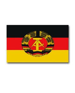 DDR Flagge Fahne Ostalgie 90 x 150 cm NEU mit 2 Ösen Hissflagge Ostdeutschland
