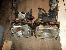 89 TOYOTA MR2 AW11 Mk1b 4AGZ Super Charged  OEM RARE pop up headlight frames