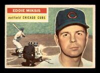 1956 Topps Set Break #285 Eddie Miksis EX-MINT *OBGcards*