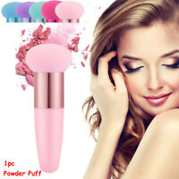 Liquid Cosmetic Tool Smooth Shaped Powder Puff Foundation Makeup Brushes Sponge