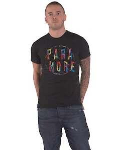 Paramore T Shirt Spiral Band Logo new Official Mens Black