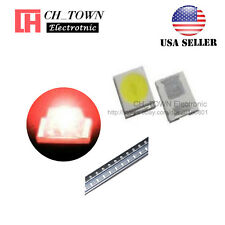 100pcs 2835 Red Light Smd Smt Led Diodes Emitting 08 Thick Ultra Bright Usa