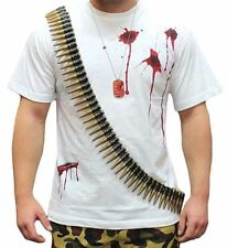 Bullet Belt With 96 Bullets Army Soldier Costume Adult Unisex Accessory Fancy