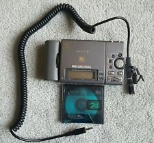 Sony Md Walkman Mz-R3 Minidisc Md Compact Portable Player Recorder+Microphone