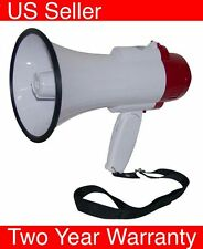 Megaphone Professional Bullhorn with Siren speaker Cheerleading Protest Rally
