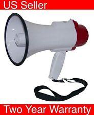 T71 Megaphone Professional Bullhorn with Siren speaker