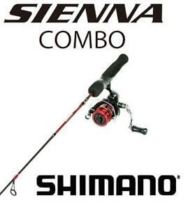 "Shimano Sienna Ice Fishing Combo 40"" Medium Heavy With 1000 Size Reel"