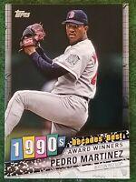 2020 Topps Series 1 Decades' Best #DB-62 Pedro Martinez - Boston Red Sox