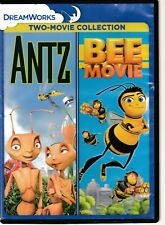 Antz / Bee Movie (Dvd) 2-in-1 Dreamworks Animated Double Feature Aob