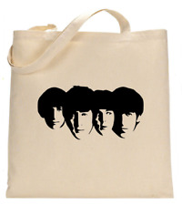 Shopper Tote Bag Cotton Canvas Cool Icon Stars The Beatles Ideal Gift Present