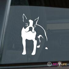 Boston Terrier Die Cut Vinyl Sticker - Bull Terrier
