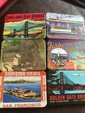 6 San Francisco a tema NUOVO Job Lotto collezione di magneti frigo stile vintage