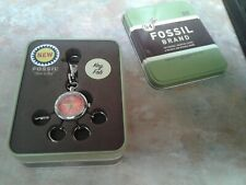 New in Box Fossil Watch Keyring Fob