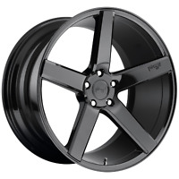1 NEW WHEEL/RIM MILAN 22x10 5x127.00 GLOSS BLACK (35mm) NC188