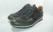 Men's Magnanni 'Cristian' Sneakers Grey Leather Size 11.5 M