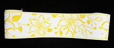 2598-20) 1 Rolle Happy Hour Vinyl Tapeten Borte Bordüre edel Design gelb weiß