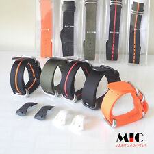 MIC Suunto D4 / D4I Adapter nylon strap black or green