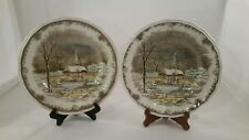 2 Shakespeare's Sonnet kensington Anne Hathaways Cottage DINNER PLATES