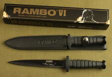 "12"" sharp Rambo VI Style SHARP Boot Dagger Jungle rescue Survival Hunting Knife"