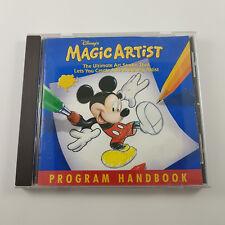 Disney's Magic Artist Cartoon Maker PC Draw like a Disney Artist Mickey Mouse
