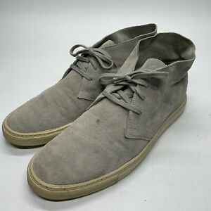 Common Projects Grey Suede Chukka - Men's EU Size 42 EUR 9 US