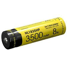 Nitecore NL1835HP 3500mAh 18650 Rechargeable Battery for High Drain Devices