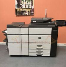Sharp MX M1204 Black & White Production Printer FN21 Stapling Finisher 120 PPM