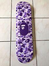 Bape A bathing Ape Purple Skateboard Deck Taipei Limited Edition #30/50 Nigo