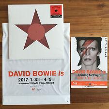 "Last Japon Vinyle 12"" Black Star/Lazare + Poster + DAVID BOWIE IS Tokyo RSD 2017"