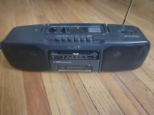 Sony Cfs-200 Radio Cassette-Corder Boombox (Cassette Does Not work)