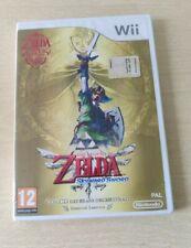 THE LEGEND OF ZELDA SKYWARD SWORD NINTENDO Wii-WiiU PAL ITALIANO COMPLETO