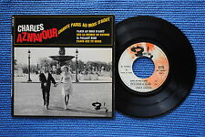 CHARLES AZNAVOUR / EP BARCLAY 70929 / RECTO 1 VERSO 1  LABEL 1 / BIEM 1966 ( F )