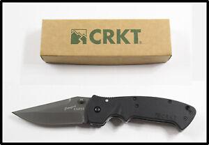 New in box CRKT Crawford KASPER 6673 Z large folding knife NICE LOOK