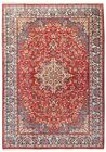 Hand Knotted Wool Red Blue Floral Fine Oriental Area Rug Carpet 8.5 x 11.9