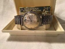 VINTAGE TIMEX WATERPROOF MARLIN MANUAL WIND MENS WRISTWATCH IN ORIGINAL BOX