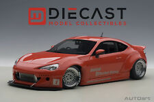 AUTOART 78757 ROCKET BUNNY TOYOTA 86 (RED/SILVER WHEELS) 1:18TH SCALE