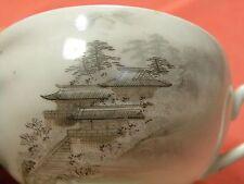 113) Teetasse 10 x 5,5 cm Lupenmalerei um 1900 Japan Bodenmarke Kutani Signatur