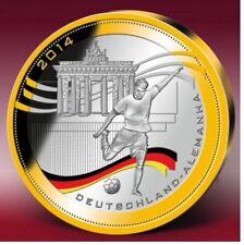 Münzen Mit Fußball Motiven Aus Deutschland Ebay