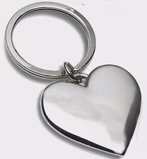 Schlüsselanhänger Herz mit Wunsch-Gravur