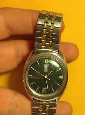 1969 Bulova Accutron Up Down Day Date 2182 Tuning Fork Stainless Watch