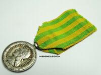 Médaille Commémorative TONKIN CHINE ANNAM 1883 Modèle de Marine Argent / N°508