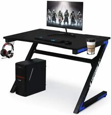 Computer Desk Gaming Table Gamer Workstation for Home or Office, Gaming PC Desk