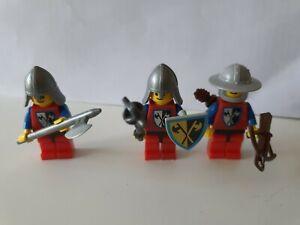 Lot De Soldats Medieval, Chevalier, Chateau Fort