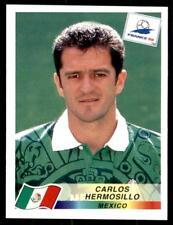 PANINI FRANCE 98 (Blue Back) - Mexique CARLOS HERMOSILLO Nº 366
