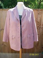 """Ladies .Pink Jacket. 44 """" Bust. by WARDROBE"""