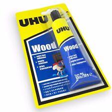 UHU Wood Adhesive – Extra Fast Setting Glue - Solvent Free – 27ml