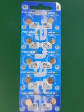 Batteries, 10Pcs Renata 362 Sr721Sw