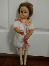 "Vintage 50's(?) Valentine 18"" Ballerina Doll with pointed feet Marked B16vw"